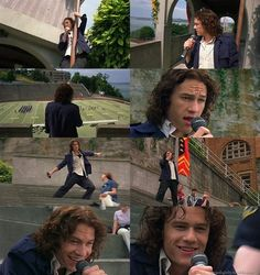 10 Things I Hate About You -- Loved the scene where Heath sang!  And Cat's poem!