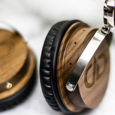 63a129ad03e Large Over-Ear 75mm, Walnut Wood Vented Chambers for Extended Low Frequency  Response. DD Audio