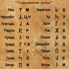 славянские руны обереги тату - Поиск в Google