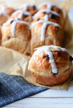 Fluffy Hot Cross Bun