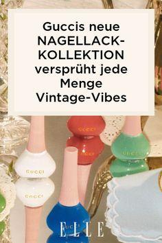 Gucci hat eine Nagellack-Kollektion auf den Markt gebracht, darunter auch die schönsten Vintage-Farben. Welche Nuancen im Sommer 2021 ein Beauty-Trend sind – auf Elle.de!