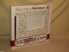 PHOTO ALBUM PRECIOUS MEMORIES NEW QUICK QUOTES SCRAPBOOK CO PRE DESIGNED PAGES #QuickQuotesScrapbookCompany