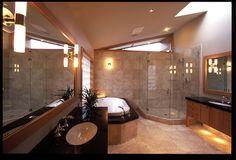 Rustic Bathroom by Debbie Evans