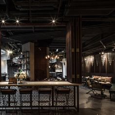 Hong Kong restaurant by Joyce Wang<br /> wins World Interior of the Year 2014