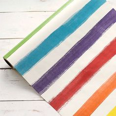 Shop our store now for this cute Painted Stripe Co... Buy it here! http://thebcsocial.com/products/painted-stripe-colorful-paper-table-runner?utm_campaign=social_autopilot&utm_source=pin&utm_medium=pin