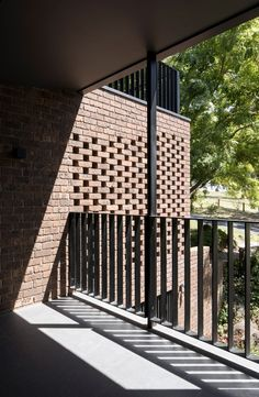 After choosing to retain a basement garage, the architects rebuilt and extended both the ground and first floors of the house. Bricks and pieces of steel salvaged from the demolition have been integrated into the structure wherever possible.