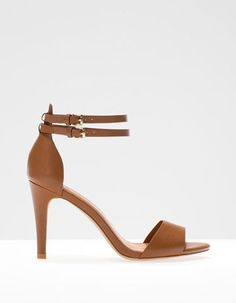 Basic high heel sandals #stradivarius