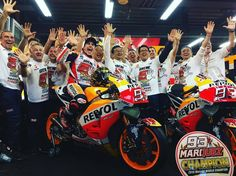 Marc Marquez World Champion 2016 after the Japan GP Race Results