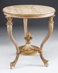 Neoclassically carved wooden table with Valencia marble slab Living Furniture, Home Decor Furniture, Table Furniture, Luxury Furniture, Furniture Design, Teak Table, Wooden Tables, Diy Coffee Table, Classic Furniture