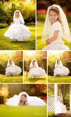 Resultado de imagen de communion photography ideas
