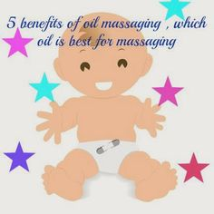 Baby oil massage benefits