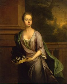"""""""portrait of a woman"""" by michael dahl, 1715"""