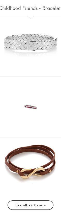 """Childhood Friends - Bracelets"" by gracebeckett on Polyvore featuring jewelry, bracelets, sterling silver bangles, bottega veneta jewelry, sterling silver jewelry, bottega veneta, sterling silver jewellery, diamond jewellery, ruby jewelry and ruby bangles"
