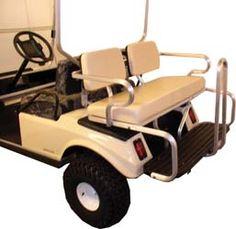 Rear Seat Golf Carts Yamaha Scooters Cart Bodies Mopeds