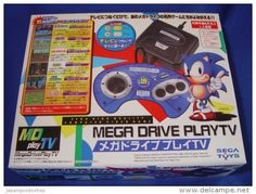 Japanese Mega Drive PlayTV ( New ) http://www.japanstuff.biz/ CLICK THE FOLLOWING LINK TO BUY IT ( IF STILL AVAILABLE ) http://www.delcampe.net/page/item/id,347362441,language,E.html