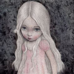 -LITTLE ANNE- colour pencils + watercolours on canson paper 220 grs. commissioned work. 2013.