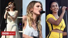 Music festivals pledge 50/50 gender equality - BBC News
