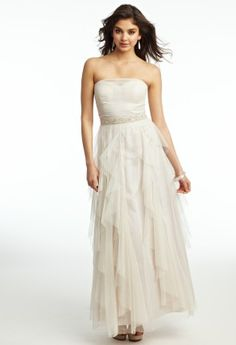 Glitter Knit Corkscrew Prom Dress from Camille La Vie and Group USA