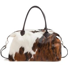 Cowhide Travel Bag | Hyde and Hare  Shop with code BS17 to save!