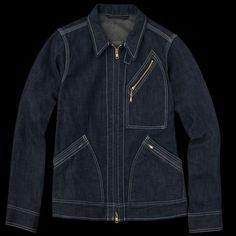 UNIONMADE - Beams+ - Japanese Denim Work Jacket in Indigo