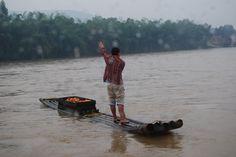 Bamboo Raft, Li River