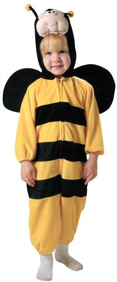 Christian keeps saying he wants to be a Bee for Halloween!