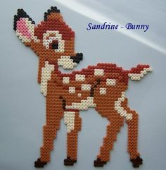 sandylandya@outlook.es Disney Bambi hama perler by Sandrine