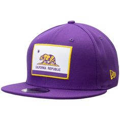 new concept 89d42 9e6a0 Men s Los Angeles Lakers New Era Purple Flag Front 9FIFTY Adjustable Hat,  Your Price   31.99