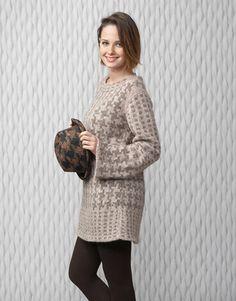 Designs for women by Katia #winter #autumn 2014 / 2015 #textures #knitting #katiayarns