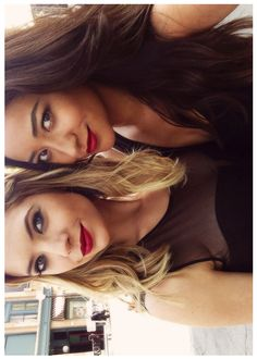 ashley benson & shay mitchell.. love their makeup