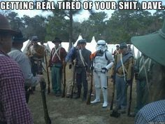 Funny pictures about Confused Stormtrooper. Oh, and cool pics about Confused Stormtrooper. Also, Confused Stormtrooper photos. Star Wars Meme, Star Trek, Memes Estúpidos, Funny Memes, Videos Funny, Funny Captions, Farts Funny, Humor Videos, Funny Pranks