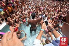 #JasonDerulo #poolparty #mobscene ~ Photo credit: Getty for #iHeartRadio — at Fontainebleau Miami Beach.