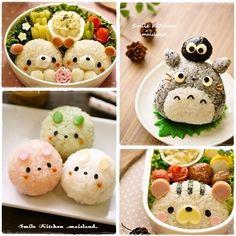 Kawaii food looks sooo yummy and healthy ^-^ Japanese Food Art, Japanese Sweets, Cute Food, Good Food, Yummy Food, Bento Recipes, Cooking Recipes, Cooking Tips, Comida Diy