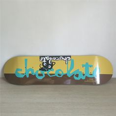 "57.85$  Buy here - http://ali0re.worldwells.pw/go.php?t=32402038028 - ""CHOCOLATE Skateboard Boards Decks 8""""/8.125""""/8.25"""" Professional Maple Shape Skateboarding Deck"" 57.85$"