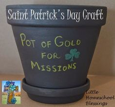 Little Homeschool Blessings: Saint Patrick: Inspiring Young Missionaries with Craft & Printable {Sponsored}
