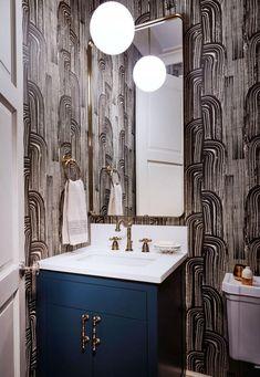 Fabulous Abstract Bathroom Wallpaper Ideas – Home Inspiring