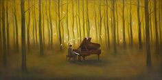 Poetic Acrylic Paintings by Duy Huynh - Cretíque