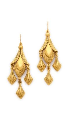 Ben-Amun Triple Drop Earrings