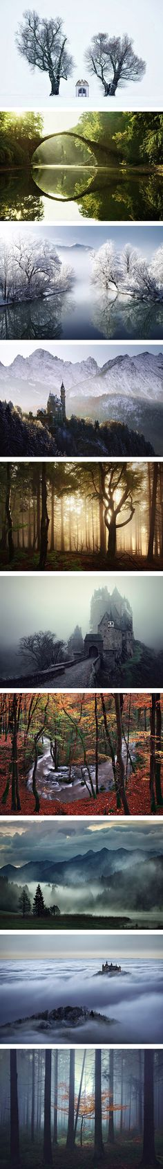 Photographer Captures 10 Stunning Brothers Grimm-Inspired Photos of Natural Landscapes