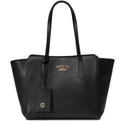 Gucci Swing small leather tote #GucciTote