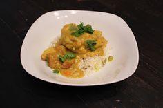 Cody's Test Kitchen: Chicken & Banana Thai Yellow Curry