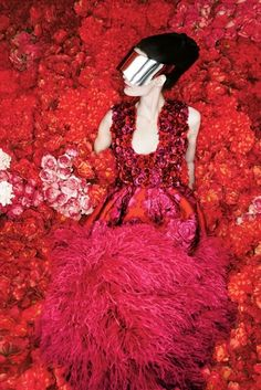 Neiman Marcus 'The Art of Fashion' Featuring Alexander McQueen AW12-13 photographed by Erik Madigan Heck.