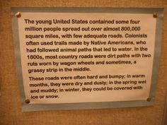 Exhibit, Fun Facts, Country Roads, Funny Facts