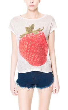 FRUITS T - SHIRT - Collection - TRF - New collection | ZARA United States