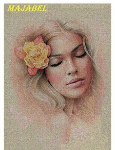 Gallery.ru / Фото #2 - девушка с цветком - irinakiz