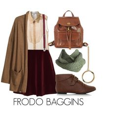 Frodo Baggins by katwhisky on Polyvore featuring мода, Manon Baptiste, H&M, Chanel, The Bridge, Chloé, Laundromat, Topman, lotr and hobbit