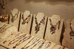 cutest homemade jewelry store display | Mannequin for Jewelry Display How to Make Your Own Necklace Displays ...