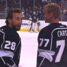 Jarette Stoll and Jeff Carter!!! Los Angeles Kings!!