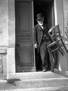 Paul Cézanne à Aix-en-Provence le 13 avril 1906, Photo de Gertrud Osthaus. © Bidarchiv Foto Marburg