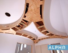 Astroid curve ceiling by Archways and Ceilings